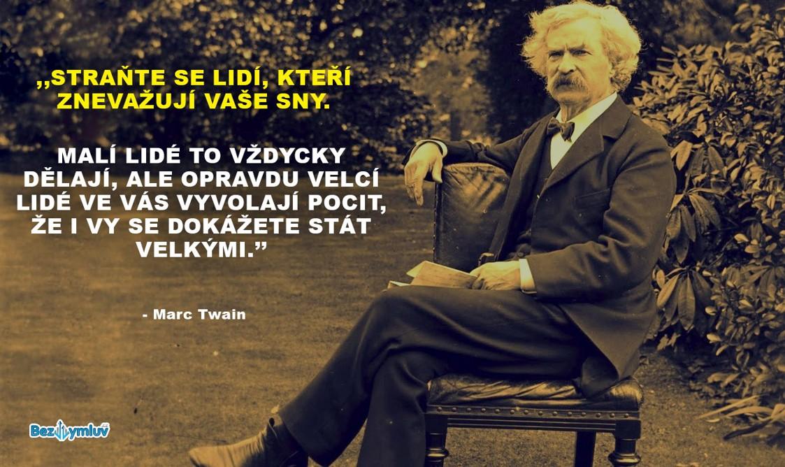 Motivační citáty - Mark Twain