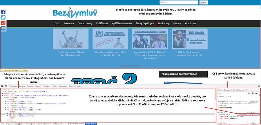 Plugin pro webmastery - Google Chrome a Mozilla
