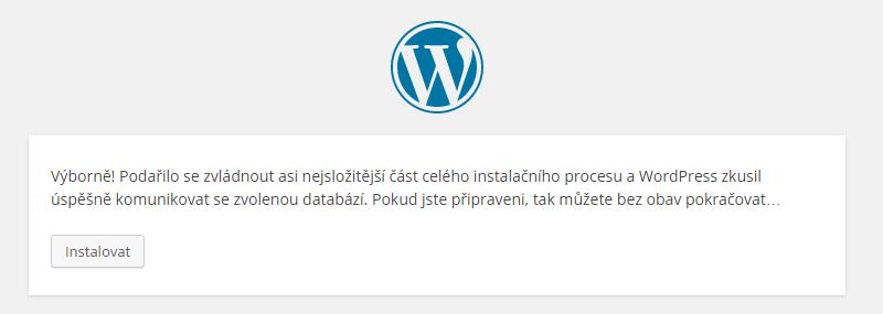 Wordpress instalace 03